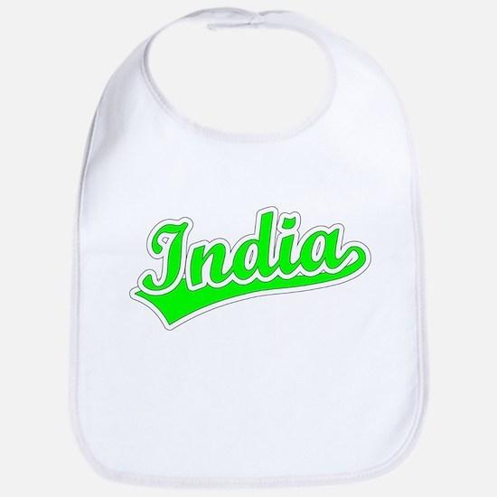 Retro India (Green) Bib