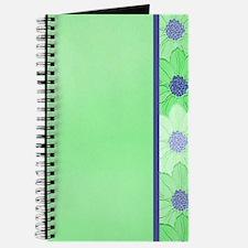 Flower Border 4 Journal