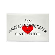 AMERICAN SHORTHAIR Rectangle Magnet