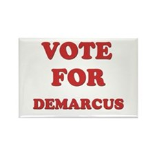 Vote for DEMARCUS Rectangle Magnet