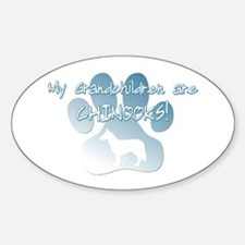 Chinook Grandchildren Oval Decal
