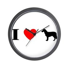 I Heart Chinook Wall Clock