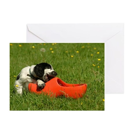 Cute Cocker Spaniels Greeting Cards (Pk of 10)