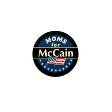 Moms for McCain Mini Button