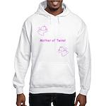 Mother of Twins - Pink Hooded Sweatshirt