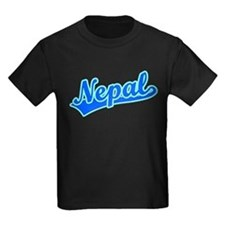 Retro Nepal (Blue) T