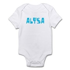 Alysa Faded (Blue) Onesie