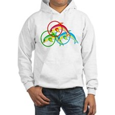 Colorful Dolphin Hoodie