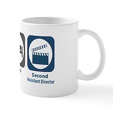 Eat Sleep Second Assistant Director Small Mug