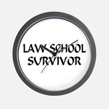 Law School Survivor Wall Clock