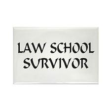 Law School Survivor Rectangle Magnet
