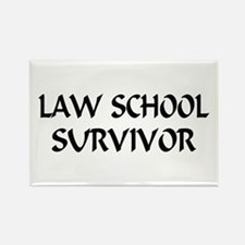 Law School Survivor Rectangle Magnet