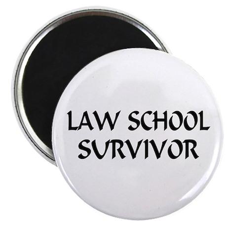 "Law School Survivor 2.25"" Magnet (100 pack)"