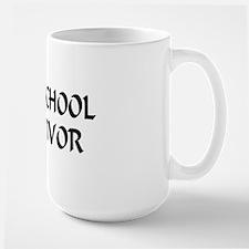 Law School Survivor Large Mug