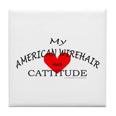 AMERICAN WIREHAIR Tile Coaster