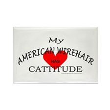 AMERICAN WIREHAIR Rectangle Magnet