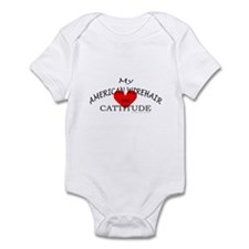 AMERICAN WIREHAIR Infant Bodysuit