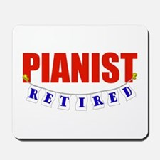 Retired Pianist Mousepad
