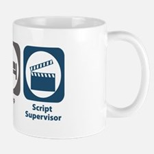 Eat Sleep Script Supervisor Mug