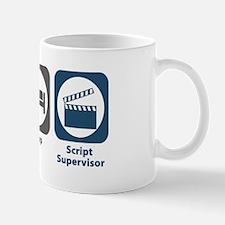 Eat Sleep Script Supervisor Small Small Mug