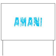 Amani Faded (Blue) Yard Sign