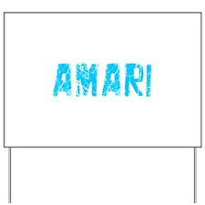 Amari Faded (Blue) Yard Sign