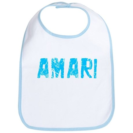 Amari Faded (Blue) Bib