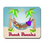 Beach Bunnies Mousepad