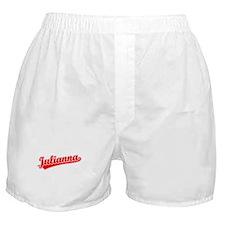 Retro Julianna (Red) Boxer Shorts