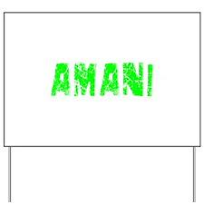 Amani Faded (Green) Yard Sign