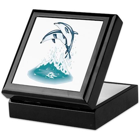Dolphins Keepsake Box