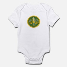 Behind every brave rifle is a Infant Bodysuit