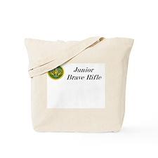 Junior Brave Rifles Tote Bag