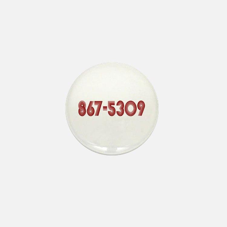 867-5309 Mini Button