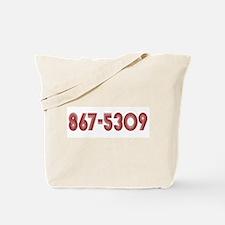867-5309 Tote Bag