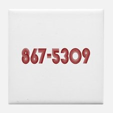 867-5309 Tile Coaster