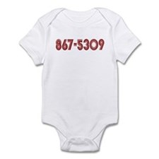 867-5309 Infant Bodysuit