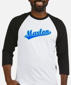 Retro Marlon (Blue) Baseball Jersey