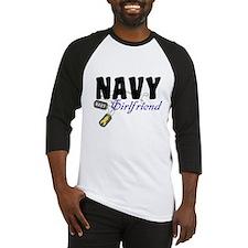 Navy Girlfriend Tags Baseball Jersey