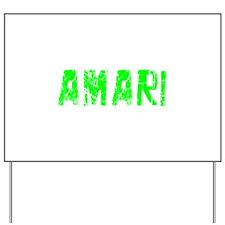 Amari Faded (Green) Yard Sign