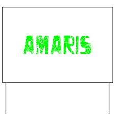 Amaris Faded (Green) Yard Sign