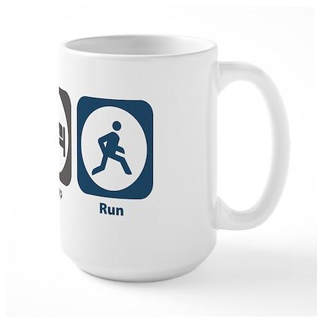 Eat Sleep Run Large Mug
