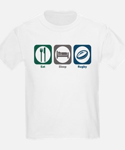 Eat Sleep Rugby T-Shirt