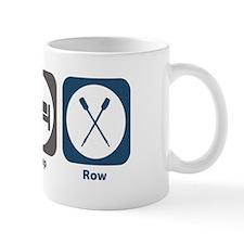 Eat Sleep Row Small Mug