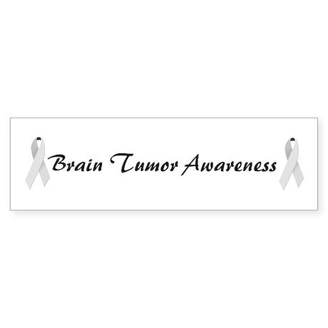 Brain Tumor Awareness Bumper Sticker