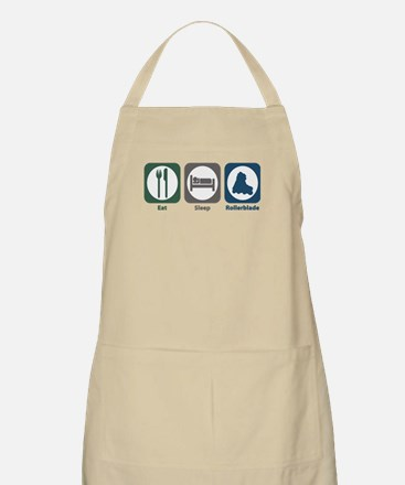 Eat Sleep Rollerblade BBQ Apron