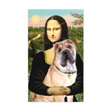 Mona Lisa's Shar Pei (#5) Decal