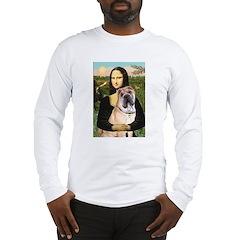 Mona Lisa's Shar Pei (#5) Long Sleeve T-Shirt