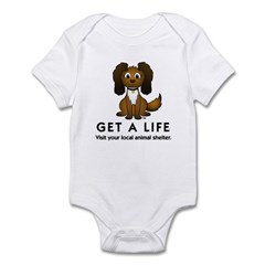 Get a Life Infant Bodysuit