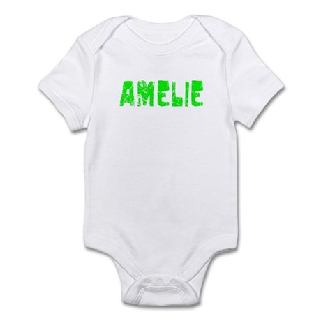 Amelie Faded (Green) Infant Bodysuit